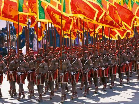 Independence Day Celebrations in Sri Lanka