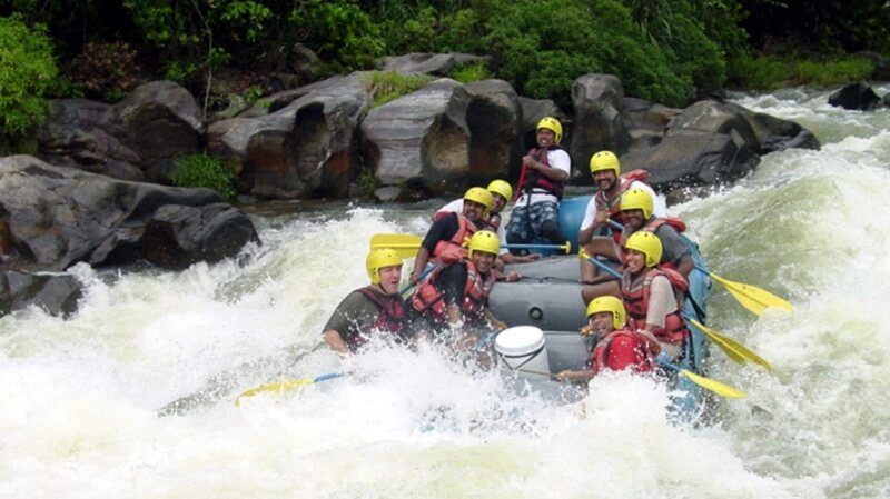 White Water Rafting at Kitulgala