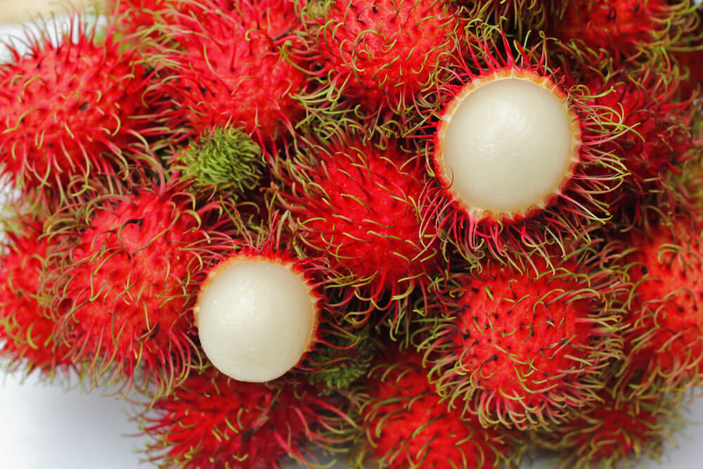 Rambutan in Sri Lanka