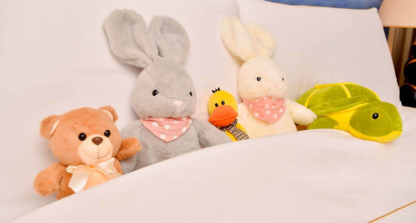 Soft Toys in Rooms at The Kingsbury Colombo
