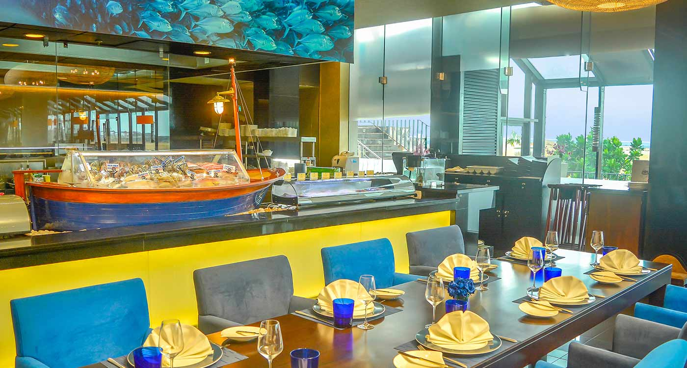 The Ocean Seafood Restaurant at The Kingsbury Colombo