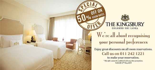 50% Off on Room Only Rate